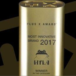 Ocenění nejinovativnější značka roku 2017 pro Hylu