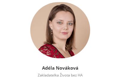 Adéla NoAváková autorka knihy Život bez hormonální antikoncepce