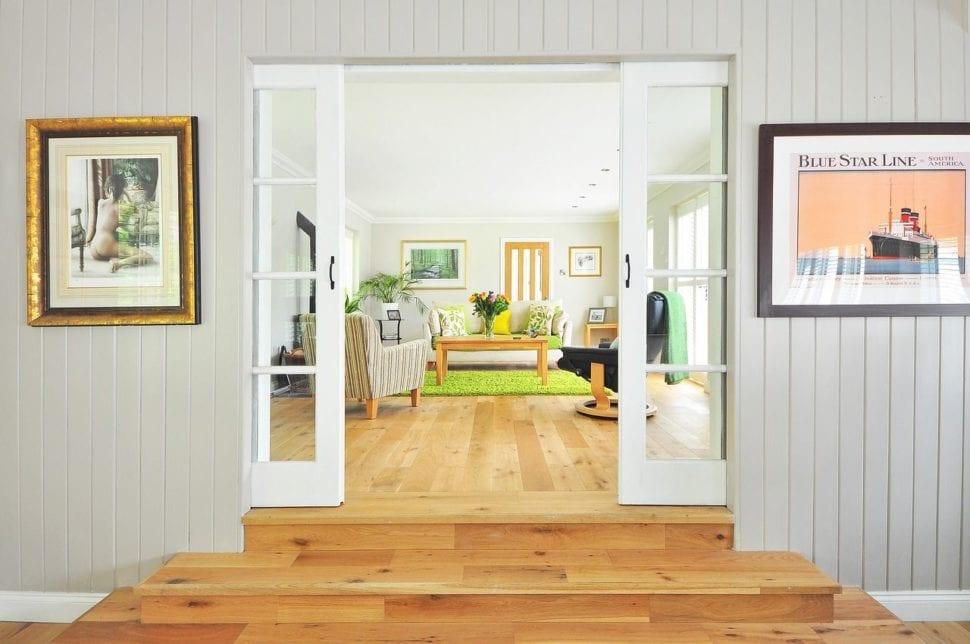 krásně uklizený domov podle feng shuei
